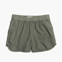 Madewell Linen-cotton Pull-on Shorts, $49.50