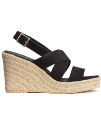 H&M Wedge-heel Sandals, $34.99