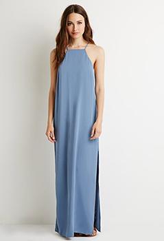 Forever 21 Contemporary Slit Maxi Dress, $24.90