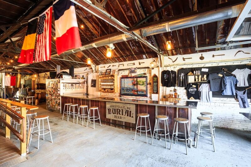 Burial Beer Co. - Check out my post from a few weeks ago all about Burial and their new food stand  Salt & Smoke -  here .
