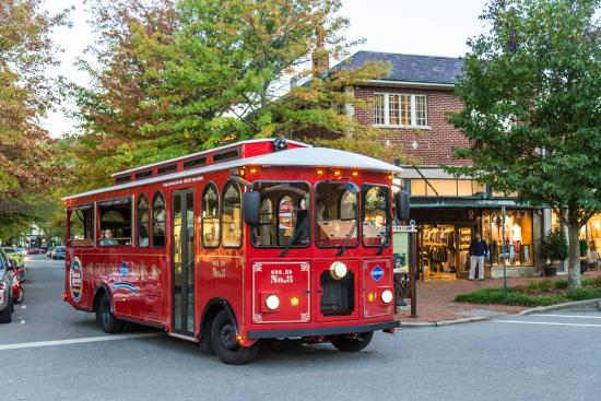 A hop on and off tour like  The Gray Line Trolley is a great way to scope out the whole town, take note of where you want to return, and learn a little about history and architecture.