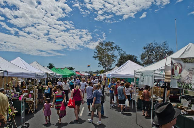 If you are in San Diego head to the   Hillcrest Farmers Market  . Go for brunch and stay to do your shopping for the week. I have yet to see a farmers market as eclectic as this one.