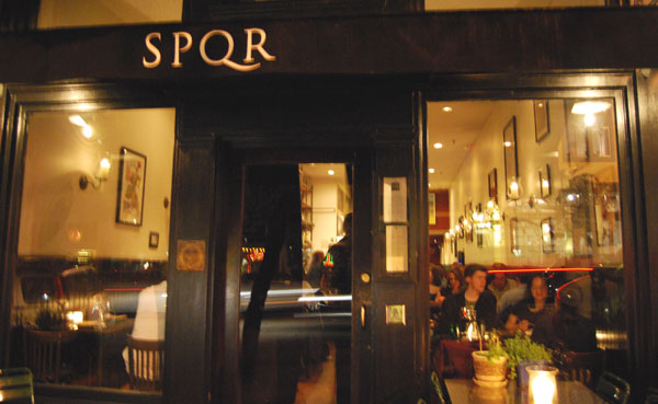 The hubby and I were so fortunate to eat at the chef's table at   SPQR   in San Francisco. Chef Matthew Accarrino's food is fabulous. We were spoiled rotten.