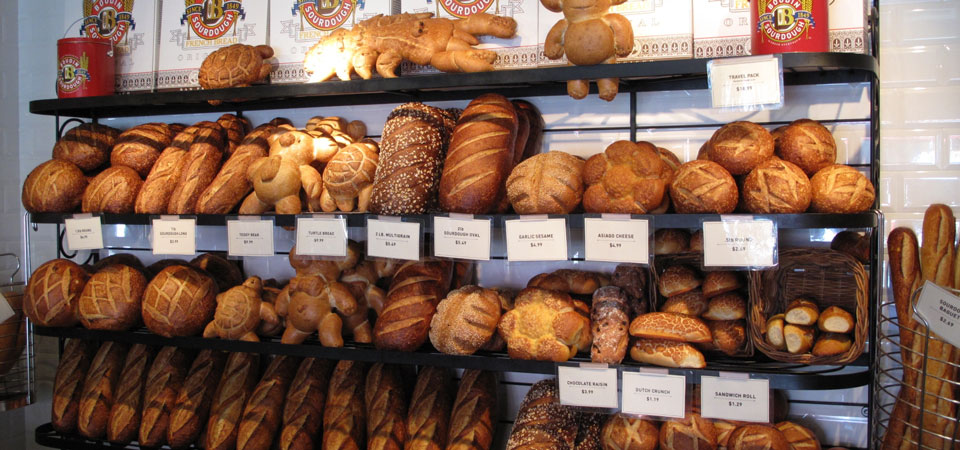 Did you know that sour dough bread started in San Francisco? Me either. Head to   Boudin Bakery   for a sandwich or soup bowl in the original place.