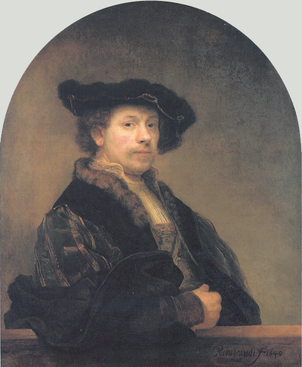 Portrait of Rembrandt ,    1640