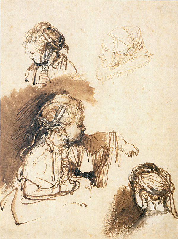 Three Studies of a Child, One Study of a Woman  , 1640-1645