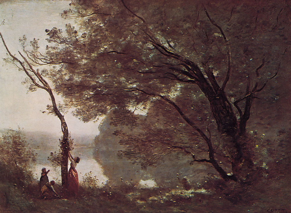 Souvenir de Mortefontaine  , 1864