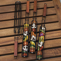 Kabob Grilling Baskets, $16.99