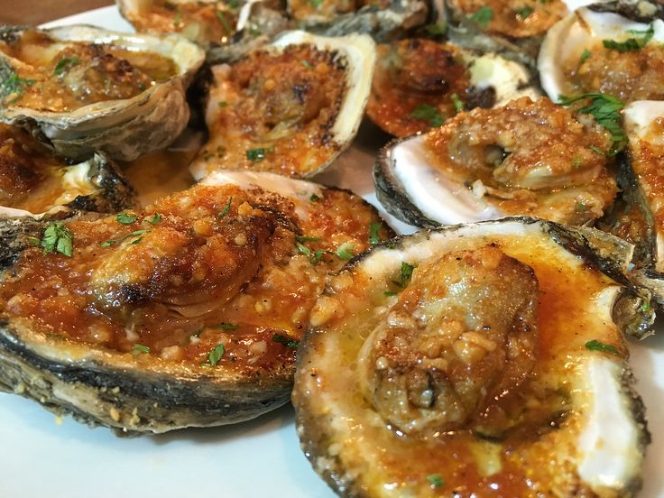 Grilled Oysters - Huîtres grillées