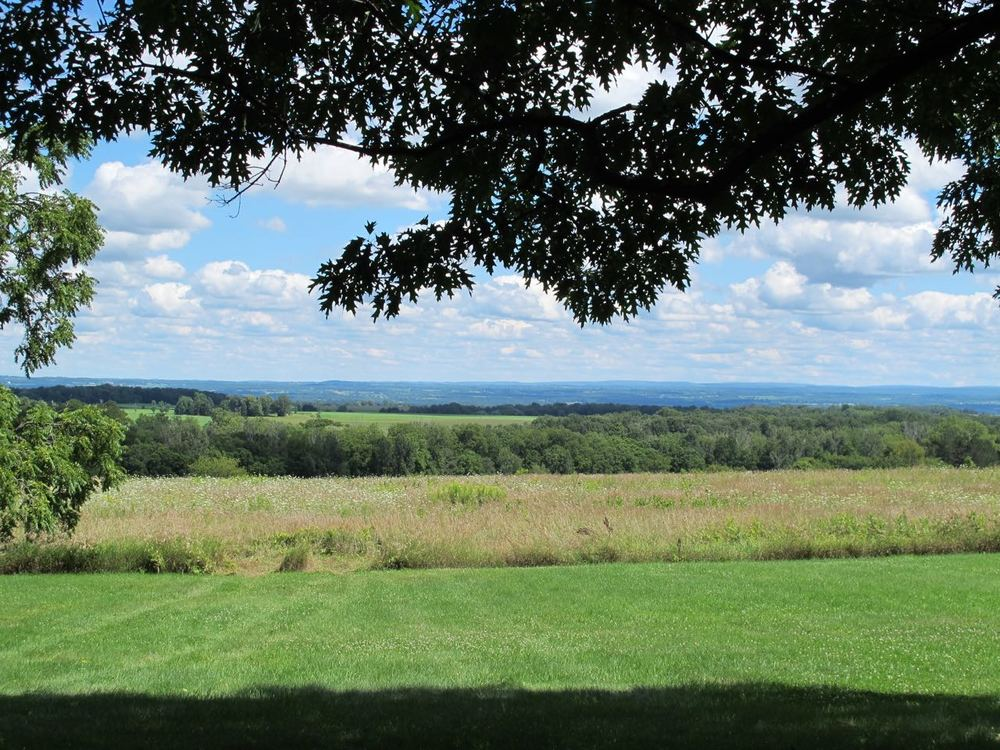 view overlooking the genesee valley