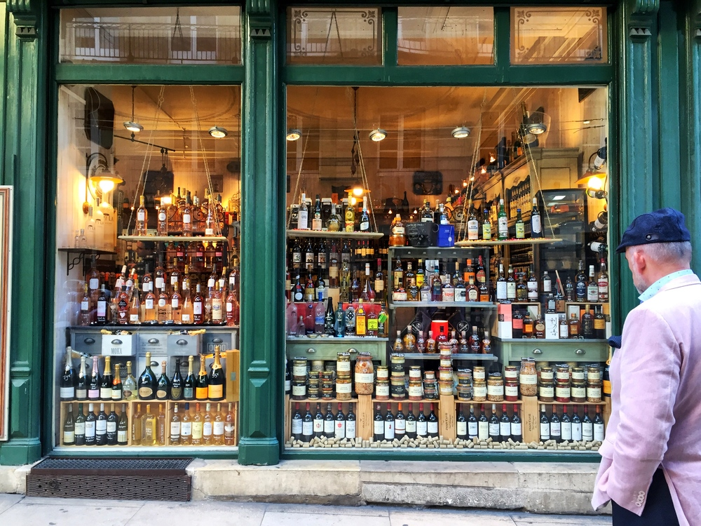 One of my favorite spirit shops in the city of Bordeaux itself
