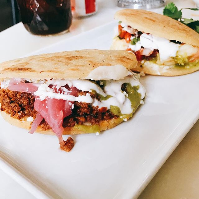 Tasty gorditas over at @comida in @thesourcedenver. We like to pick a couple different styles to try each time we visit. 🌮 . . . . . . #Colorado #Denver #TheSourceDenver #Foodie #Foodies #FoodBlogger #Gordita #DenverLiving #Coloradogram #Dnvr #DenverColorado #Comida