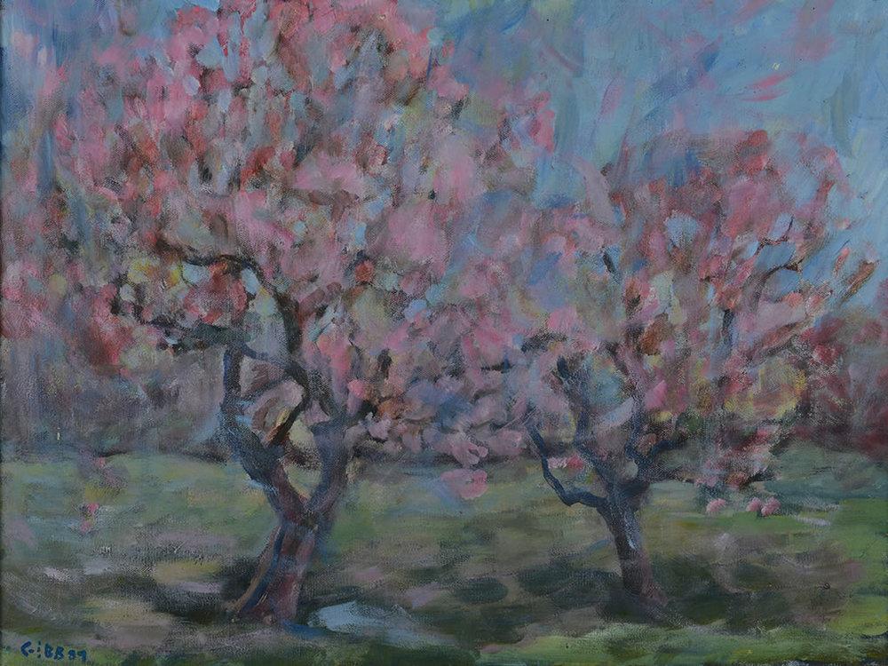 24 x 30 Pink Summer Trees.jpg