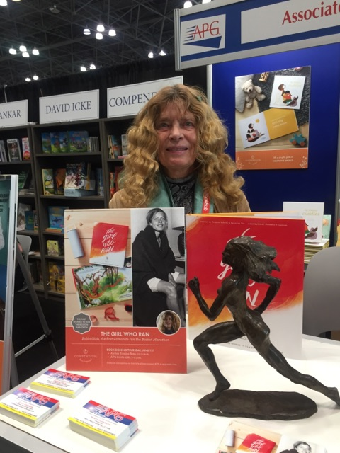 Bobbi at APG Booth at BookExpoAmerican NYC