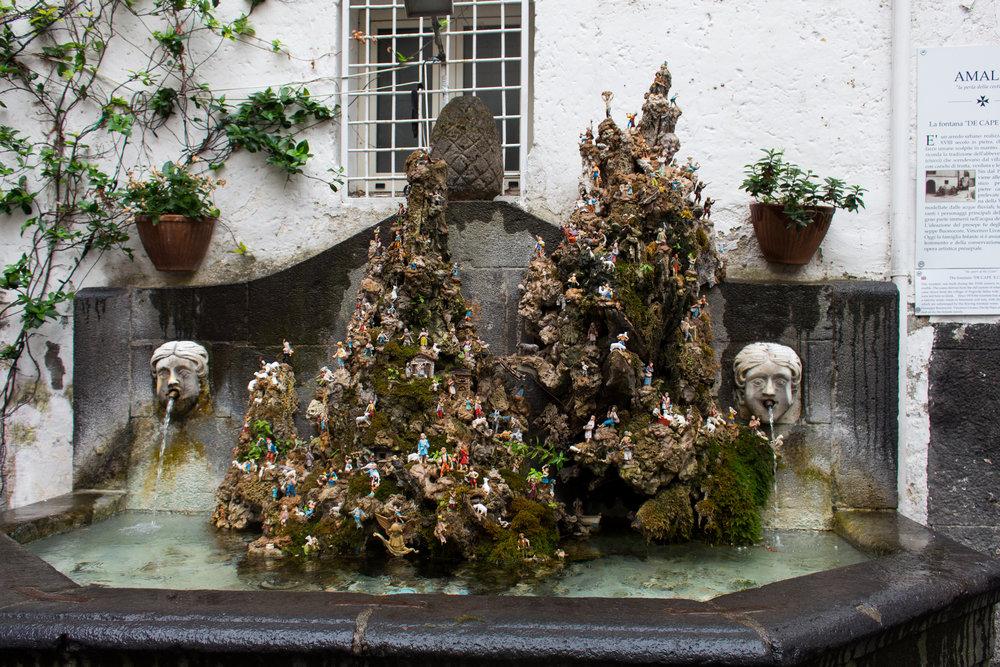 La fontana de cape 'e ciucci
