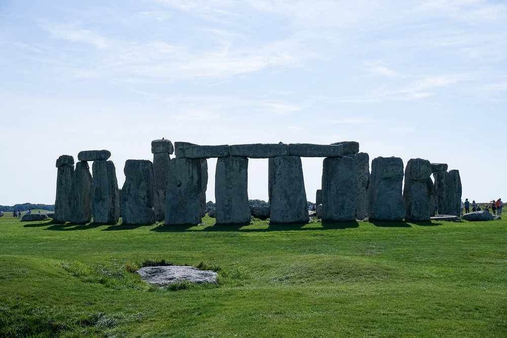 Slaughter Stone and the Entrance to Stonehenge