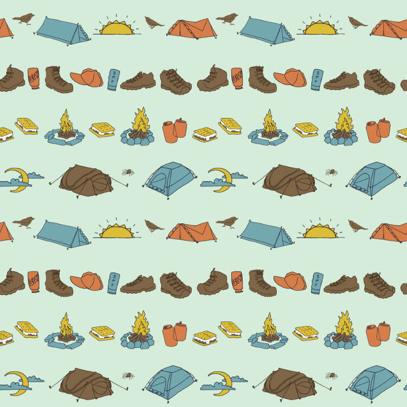 Tents - A camping theme for day seventy-three of my 2018 #100DayProject.