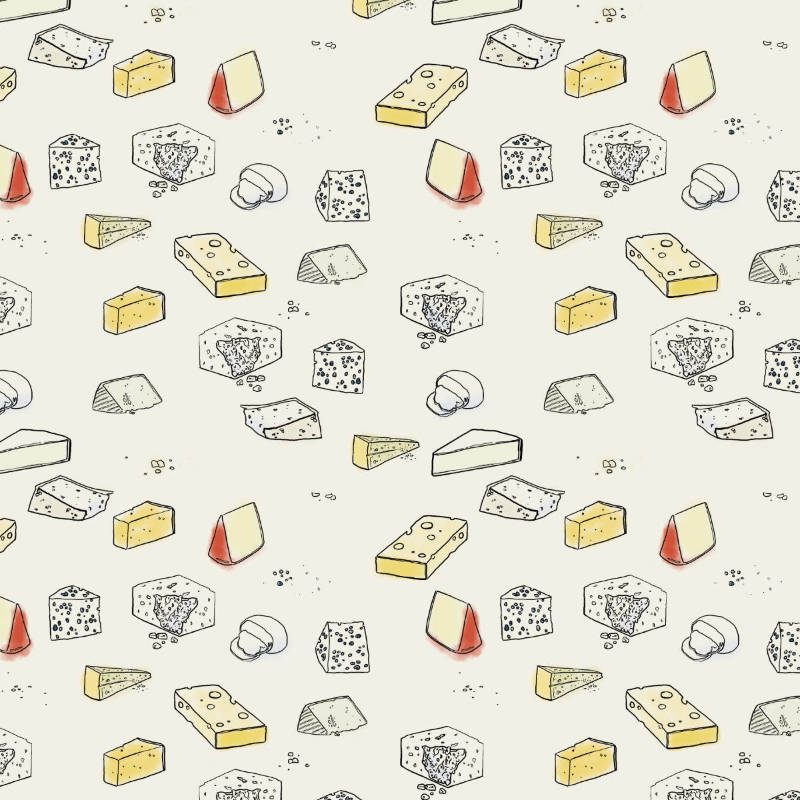 Cheers to Cheese - Cheese repeat. Day six of my 2018 #100DayProject.