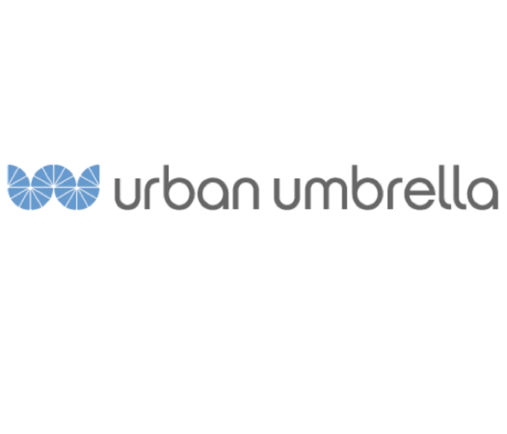 Urban Umbrella  provide innovative scaffolding for the future of city sidewalks.