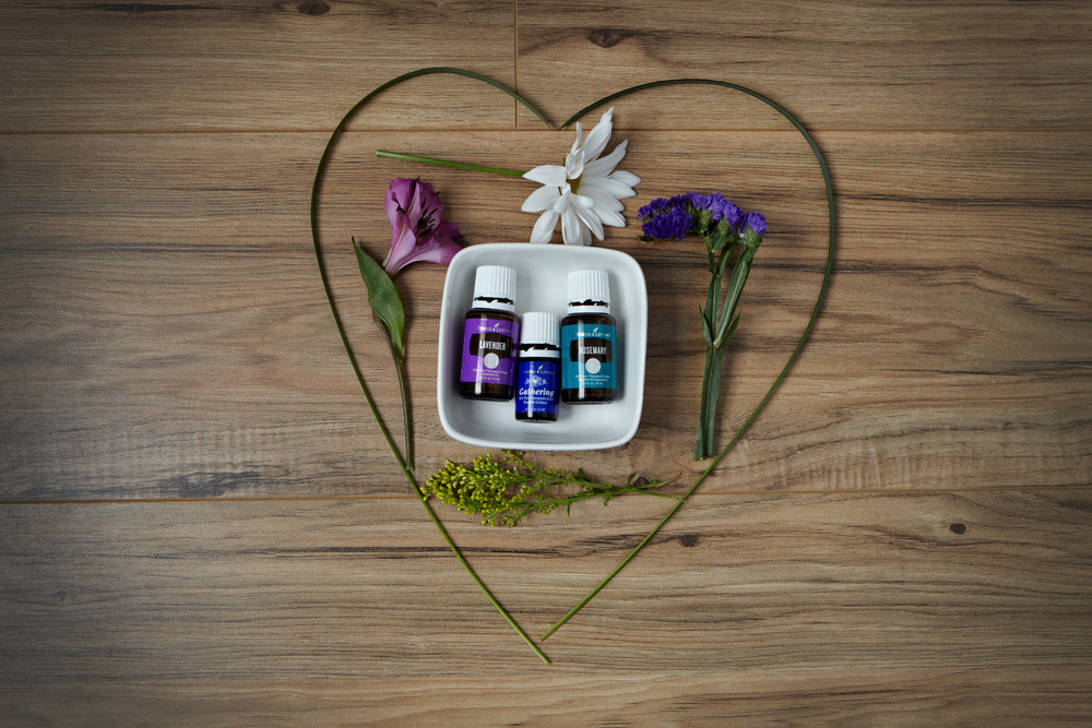 Essential Oils are used to create a customized blend for the Aromatherapy Scalp Massage Treatment
