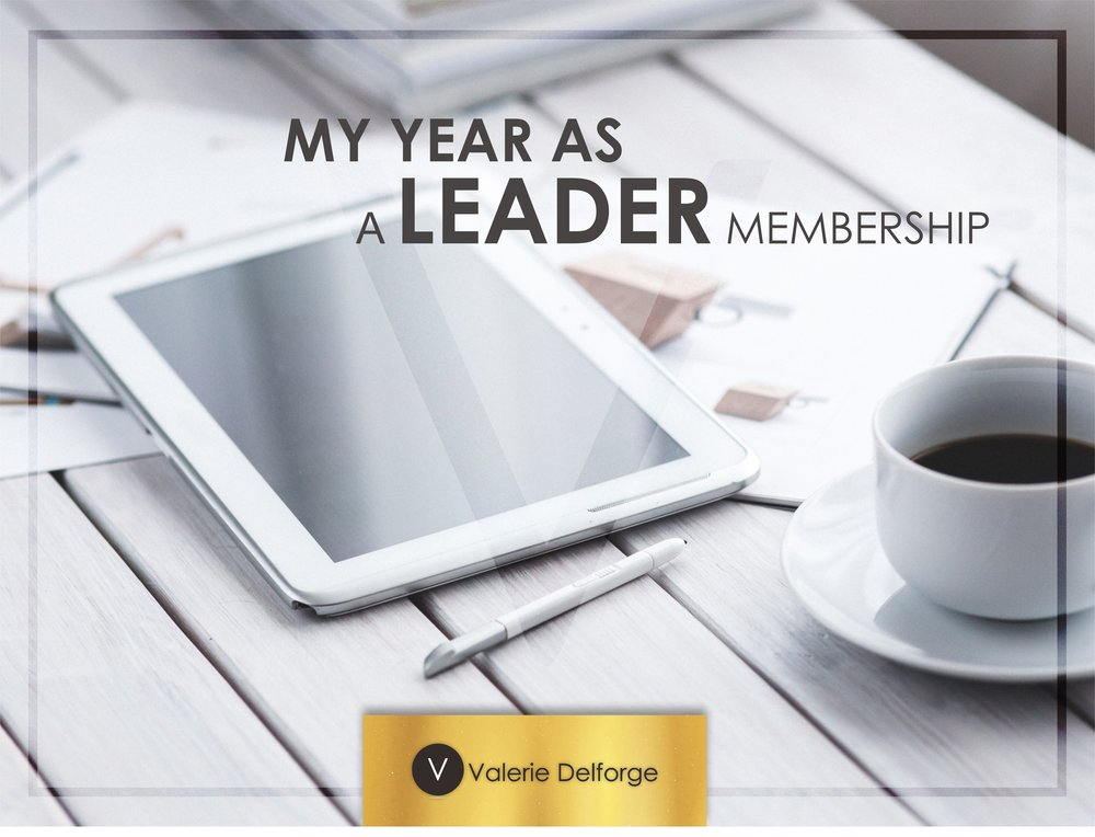 My year as a leader Membership by Valerie Delforge