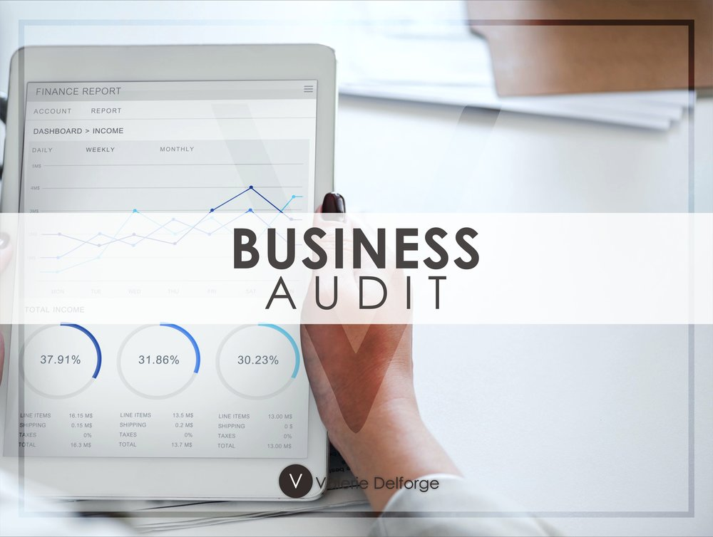 Business Audit with Valerie Delforge