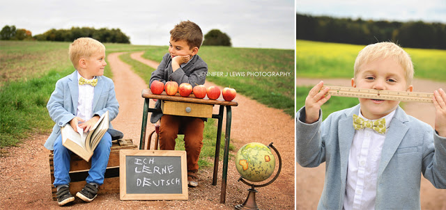 Jennifer J Lewis Photography - Kindergarten Photo Shoot