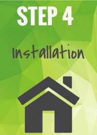 Our expert installers will arrive at your home for a same-day set up.
