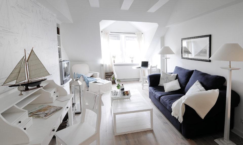 """Der schönste Ort für schlaflose Nächte: das """"Blaue Zimmer"""" im Boardinghouse"""