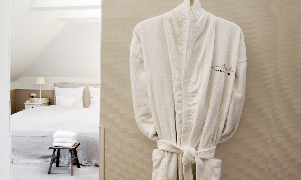 Quiet, separate bedrooms for a wonderful night's sleep