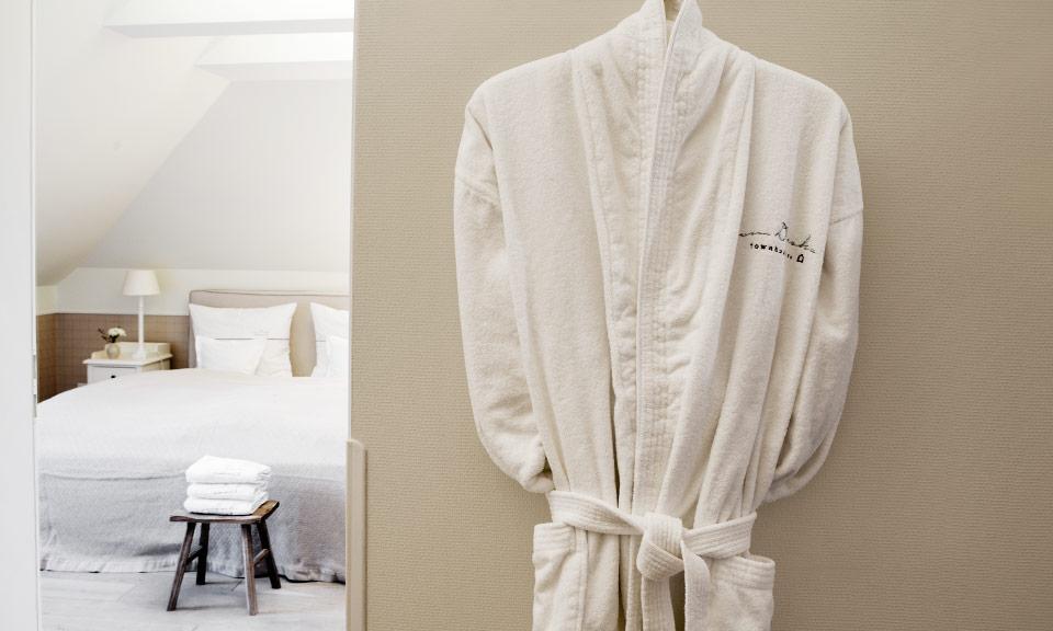 Ruhige, separate Schlafzimmer für höchsten Schlafkomfort