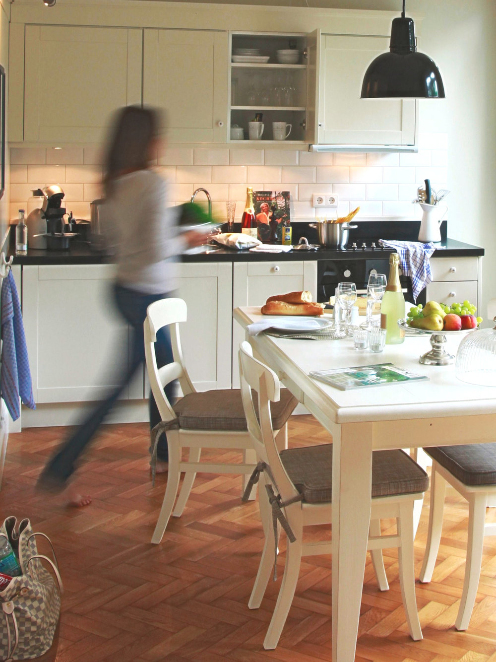 Küche im von Deska Townhouse