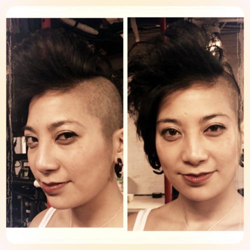 Avant Garde Haircut With Sound AssociatenbspMaxine Gutierrez