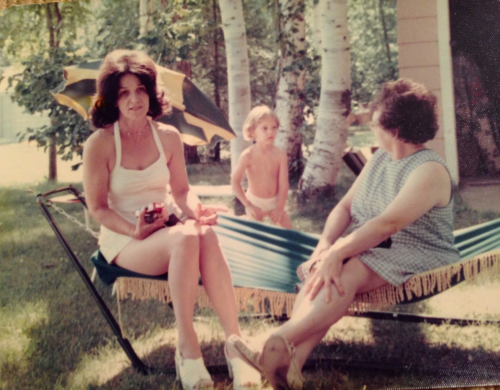 My great Aunt, Grandma and cousin