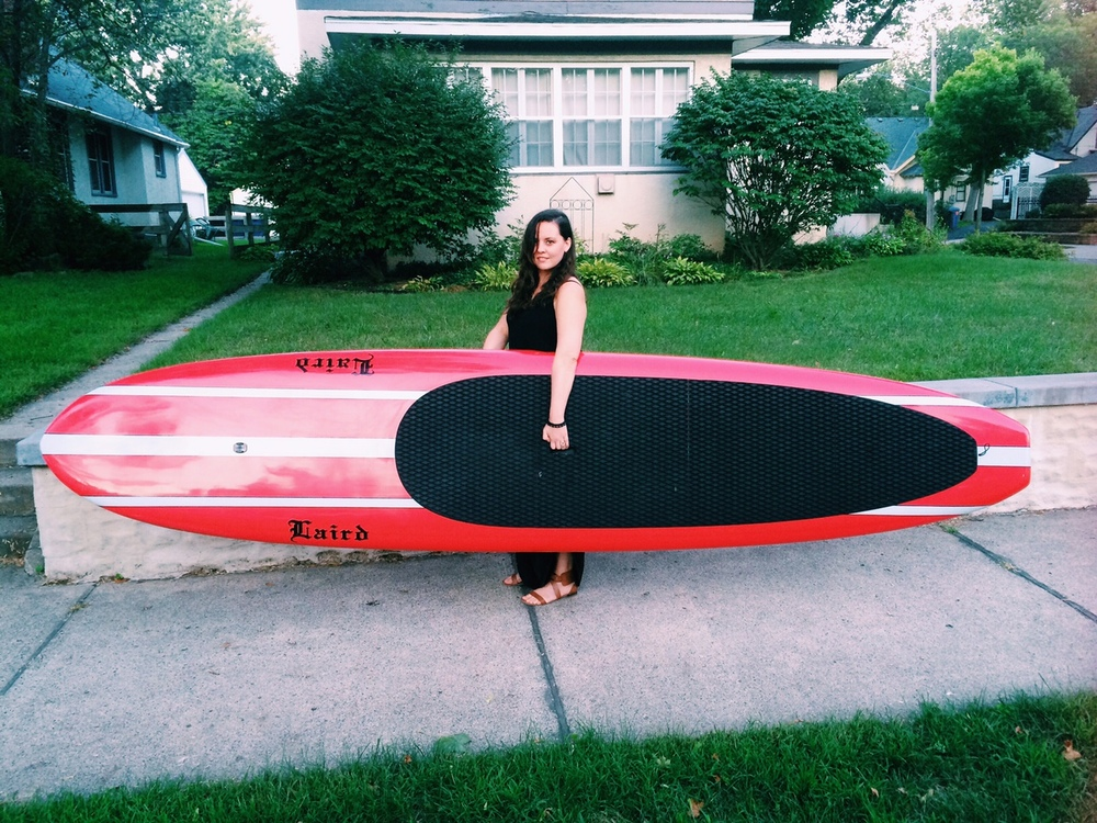 My new paddleboard