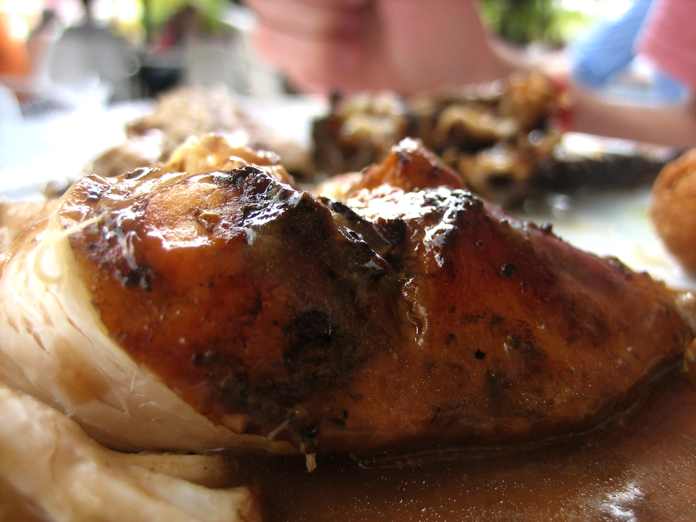 Jerk chicken. Everyday.