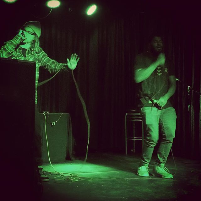 Our dudes OG Temple ripped it up last night! @skeuwep #HipHop #livemusic #Green #skeuwep #skeuwepeverywhere