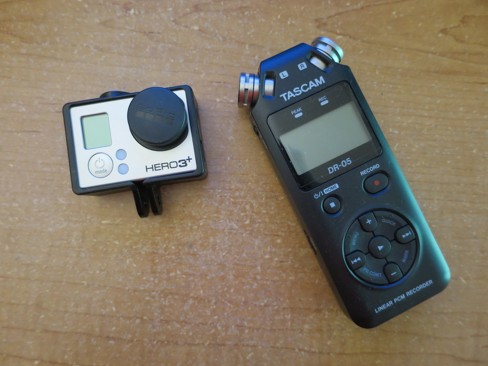 Tascam and GoPro