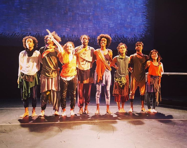Conference of the Birds was a contemporary dance work presented by Anikaya. The piece was based on an ancient Persian poem about the soul's search for meaning told through the journey of 30 birds.