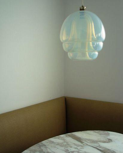 opalescent glass pendant