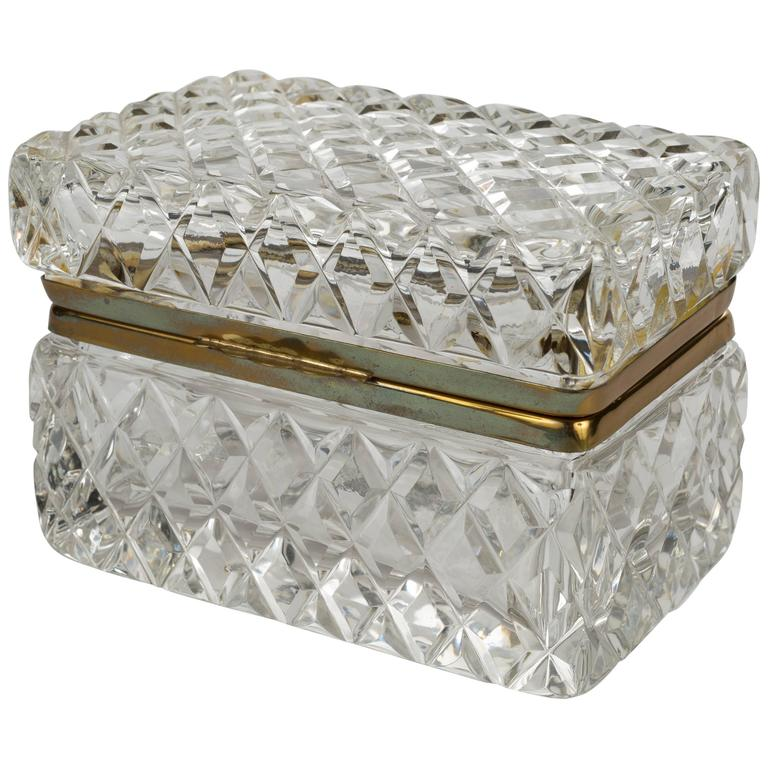 a crystal box, for channeling a stylish opulent grandmother (in the best way)