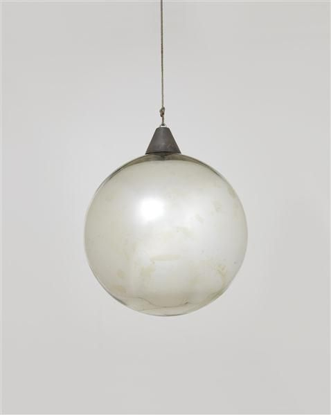 "Bauhaus Mirror ball for the ""Metallisches Fest,"" Dessau, ca. 1929"