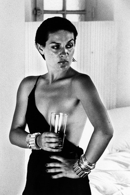 Paloma Picasso by Helmut Newton