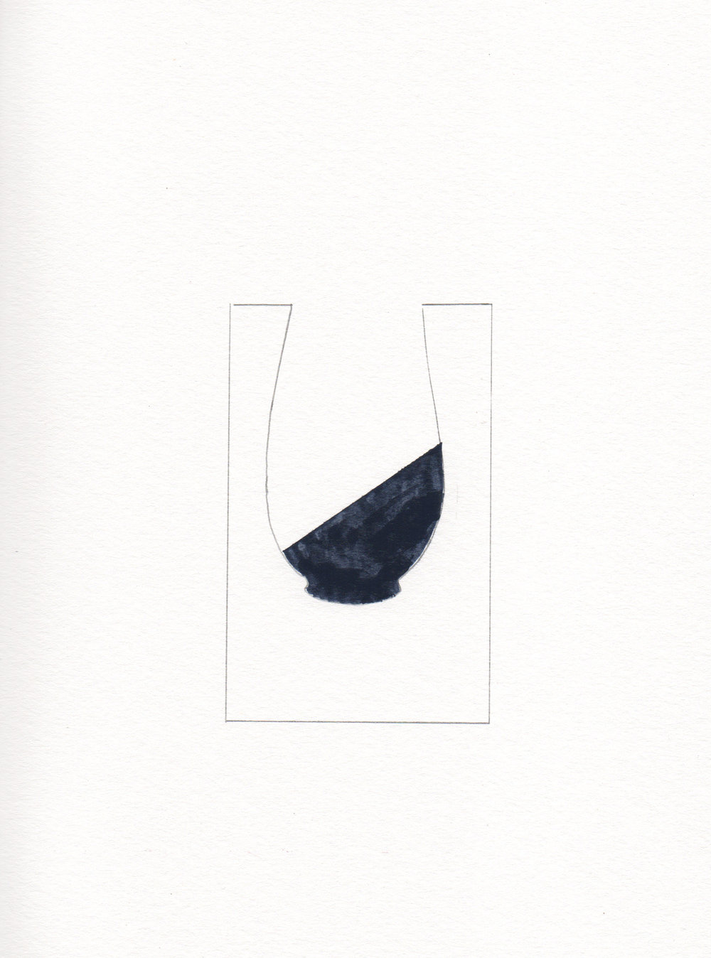 """Vase,"" featuring Blue Nudes"