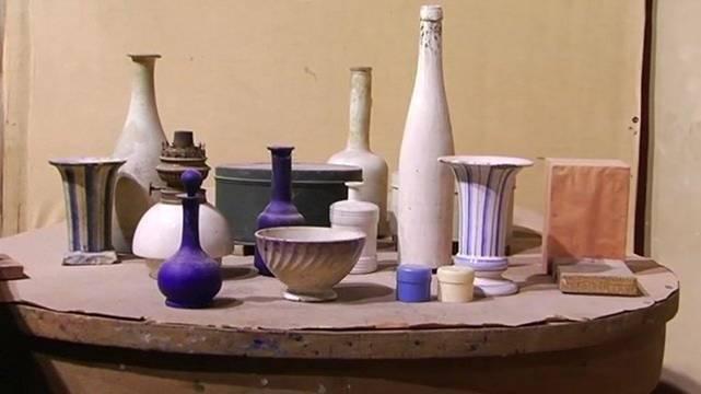 Giorgio Morandi studio still life