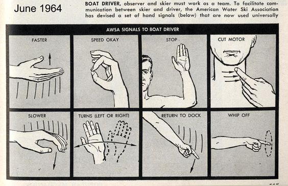 vintage guide to boating communication