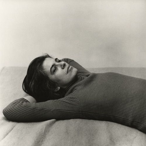 Sontag photographed by Peter Hujar