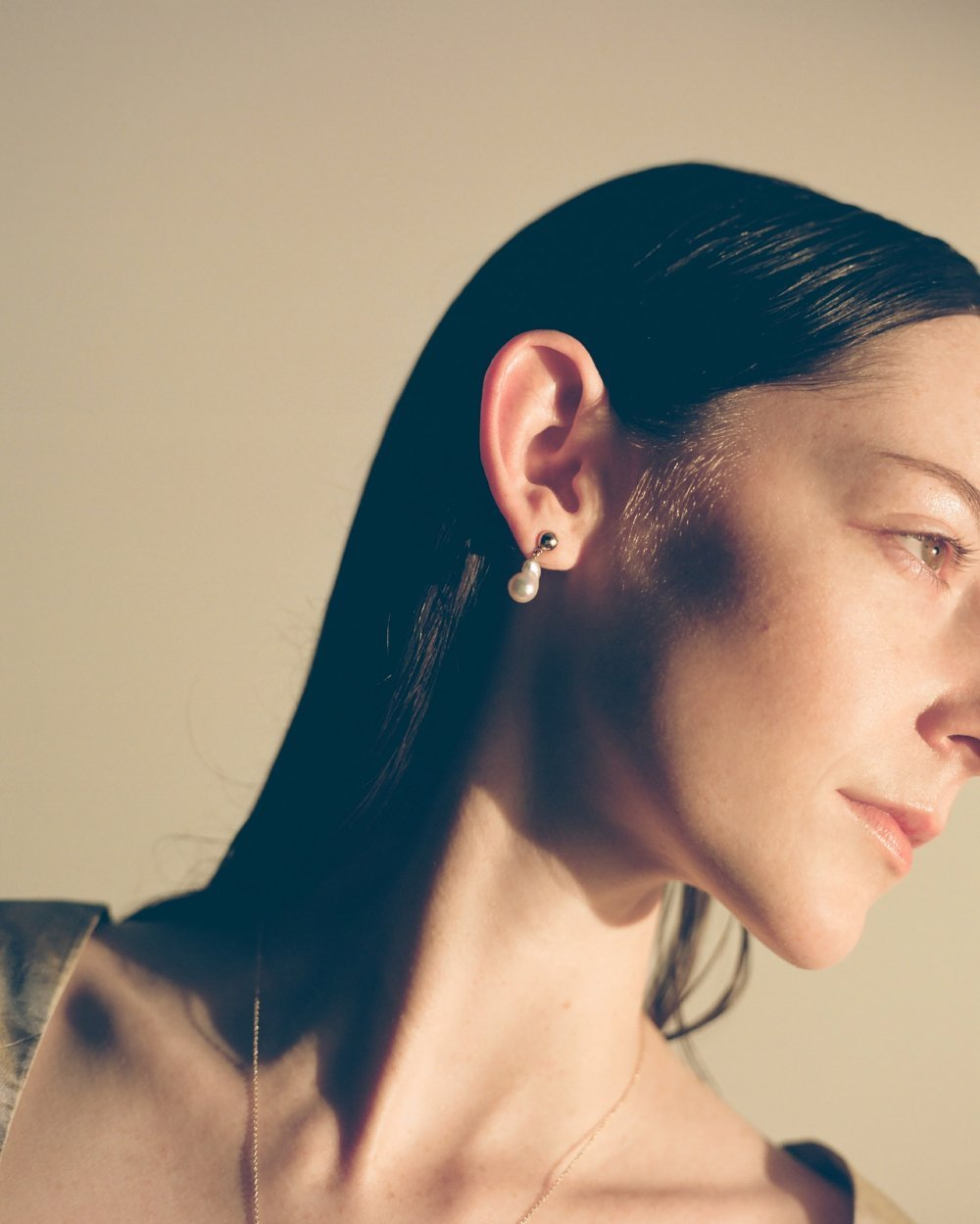 For the extra-special: the last of an extremely limited-edition edit of Akoya pearl drop earrings