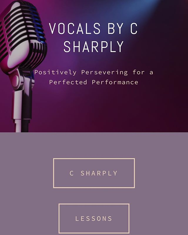 Congratulations Vocals By C Sharply on his new site! #goodmusic #jammingout www.vocalsbycsharply.com