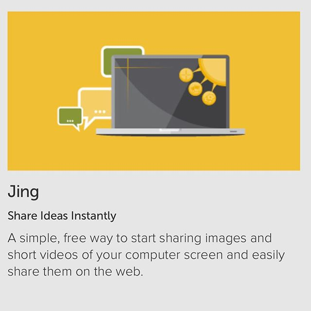 Jing by www.TechSmith.com is a free way to do picture & video captures FAST! We use it just to save pictures to our desktops for support. #picture1000words #business #collaboration #entrepreneurs